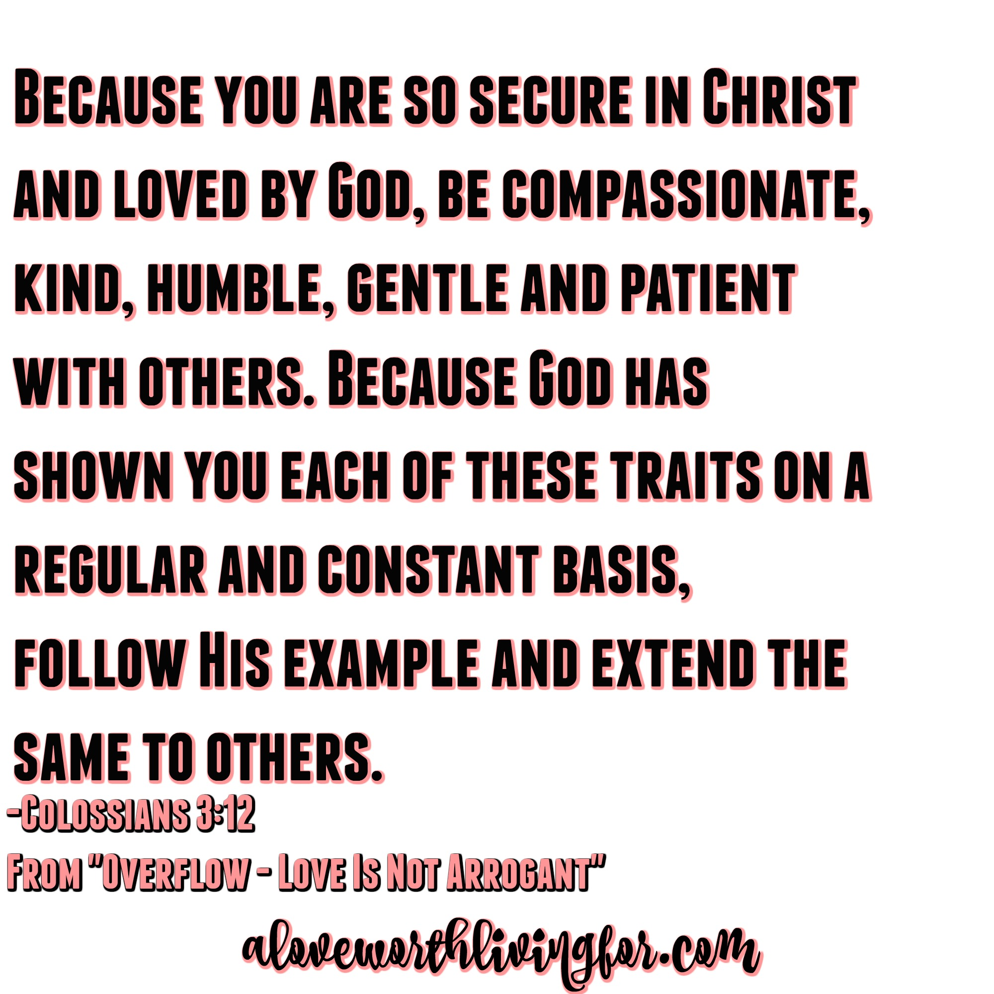 1 Corinthians 13 - What does love look like? Well it is not arrogant and that is a big deal. Here's why.