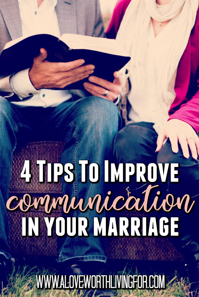We are called to live in peace with all men (Romans 12:18). Who doesn't wasn't a peaceful home and marriage? These for easy tips, if implemented, are a great step in that direction.