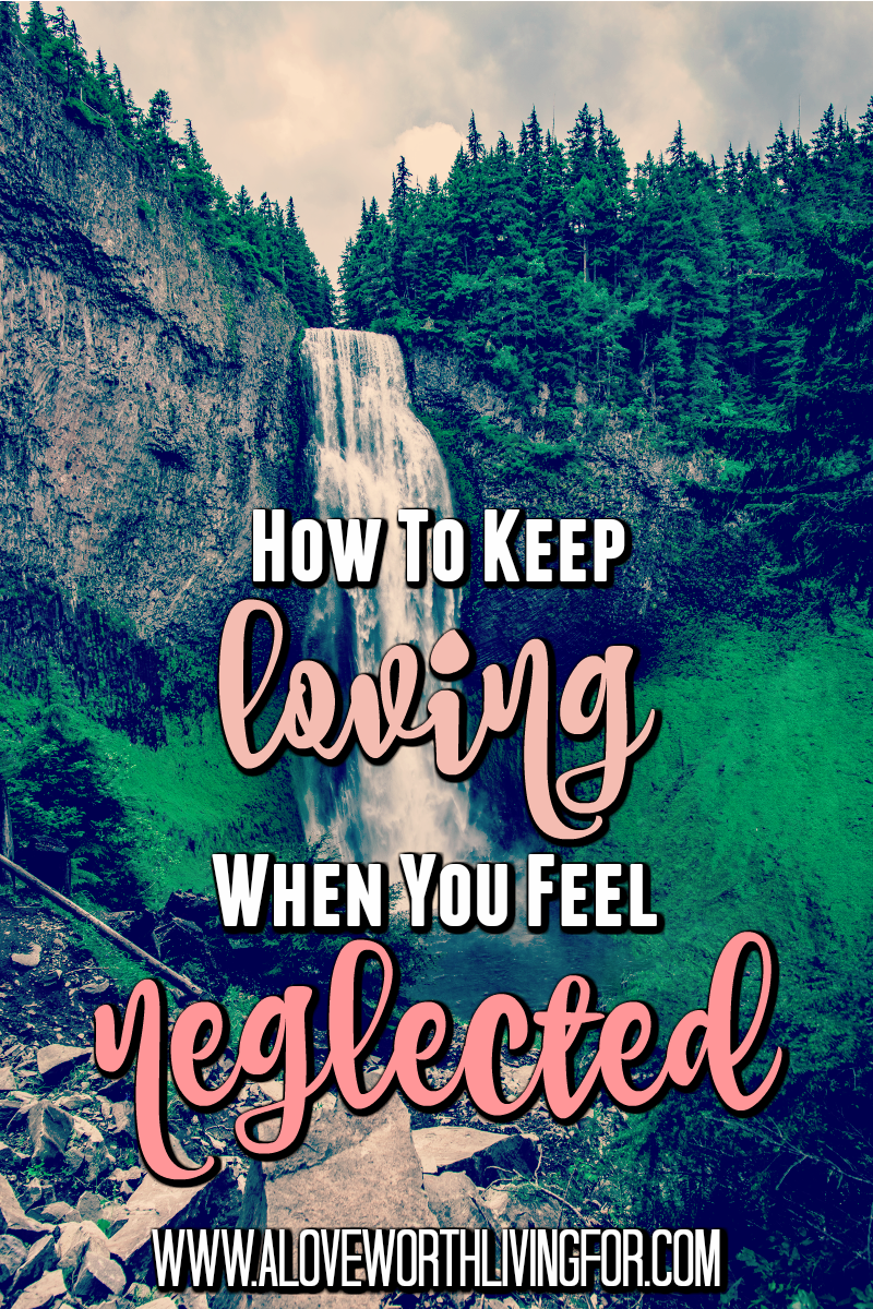 How do you remain loving and kind when you feel neglected and left behind? The good news is it totally possible! I am going to tell you how.