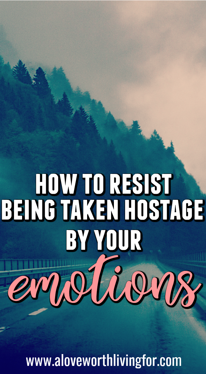 I am so tired of losing whole days to those dark clouds that roll in and settle over our minds. There are ways to proactively fight to retain control of your emotions. Here are my tips and tricks for not allowing your emotions to take you and your day hostage.