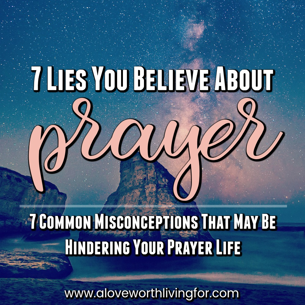 Prayer can be this tedious mysterious routine we are required to go through because God has granted us salvation or it can be rich and lively communication between us and our Heavenly Father who adores us and loves talking with us. These 7 misunderstandings stand in the way of a richer and more satisfying life of prayer.