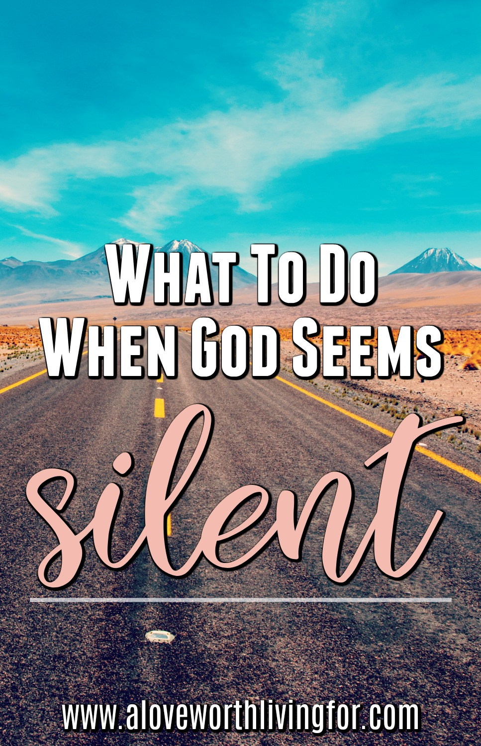 What do you do in seasons when God seems silent? How do you foster intimacy and connection with God when He seems so far away? How do we remain faithful when we feel a little abandoned. It's simply really. Follow and cling to these three steps.
