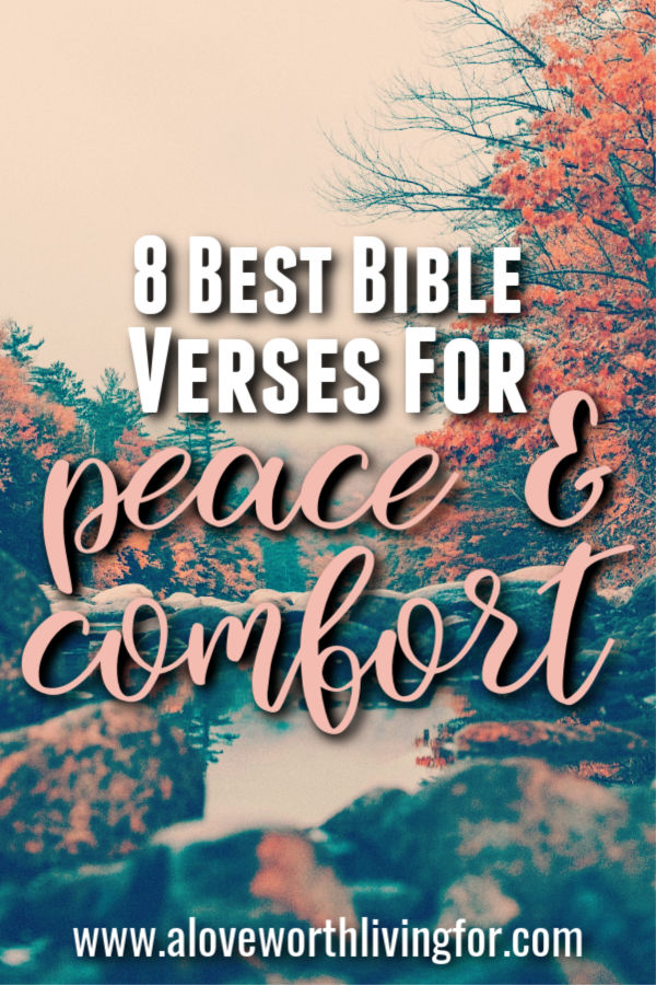 Sometimes life gets hard. During difficult or busy seasons we can turn to the Word of God to find comfort. Here are 8 powerful verses for peace and strength for times when you need it the most.