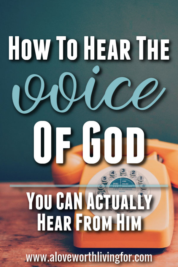 I was never actually taught how to hear the voice of God but it was something that I wanted so badly. If you are like me, then that is probably something you want as well. I've learned through experience and practice. Here's how you can learn to hear from God. #bibleverse #biblestudy #quotes