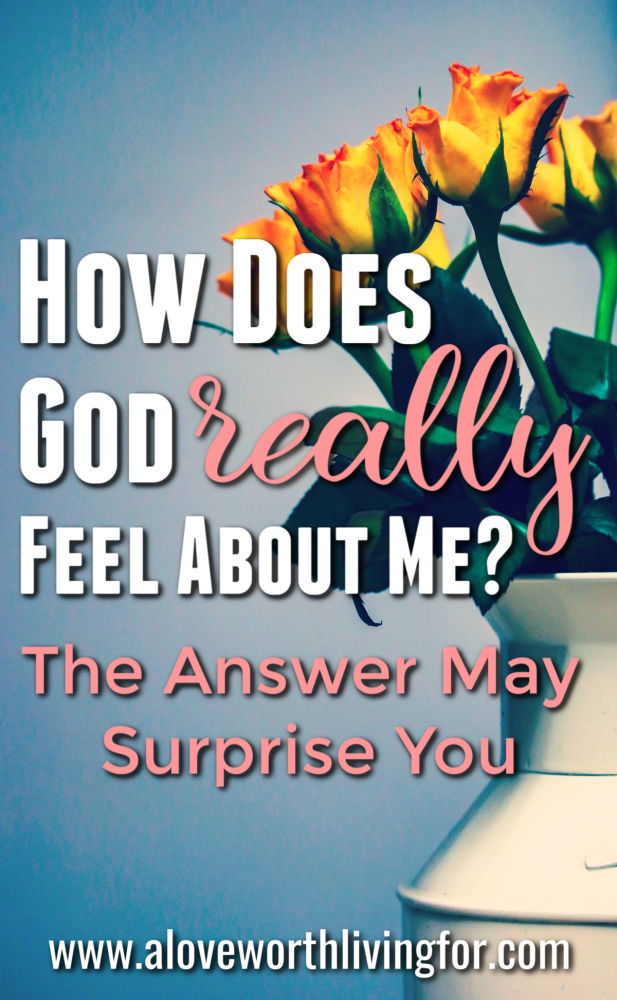 Have you ever found yourself asking How Does God Really Feel About Me? Do you know the answer? Do you truly believe that God is found of you? This will not only tell you and probably surprise you with the truth of how God feels about you but it will also give you proof to rest in when doubts and fears come.