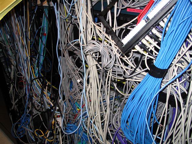 Customer Data Center Before Image