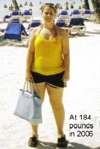 """Joanne Giannini   """"Before"""" photo, 2006   Age:40"""