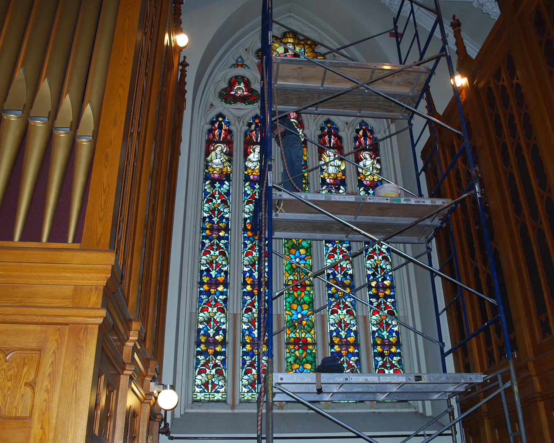 St. Peter's Choir Loft - Great Barrington, Ma.