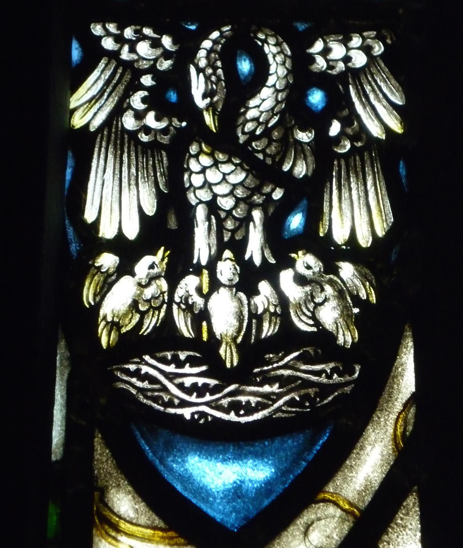 Bonawit Window, border detail