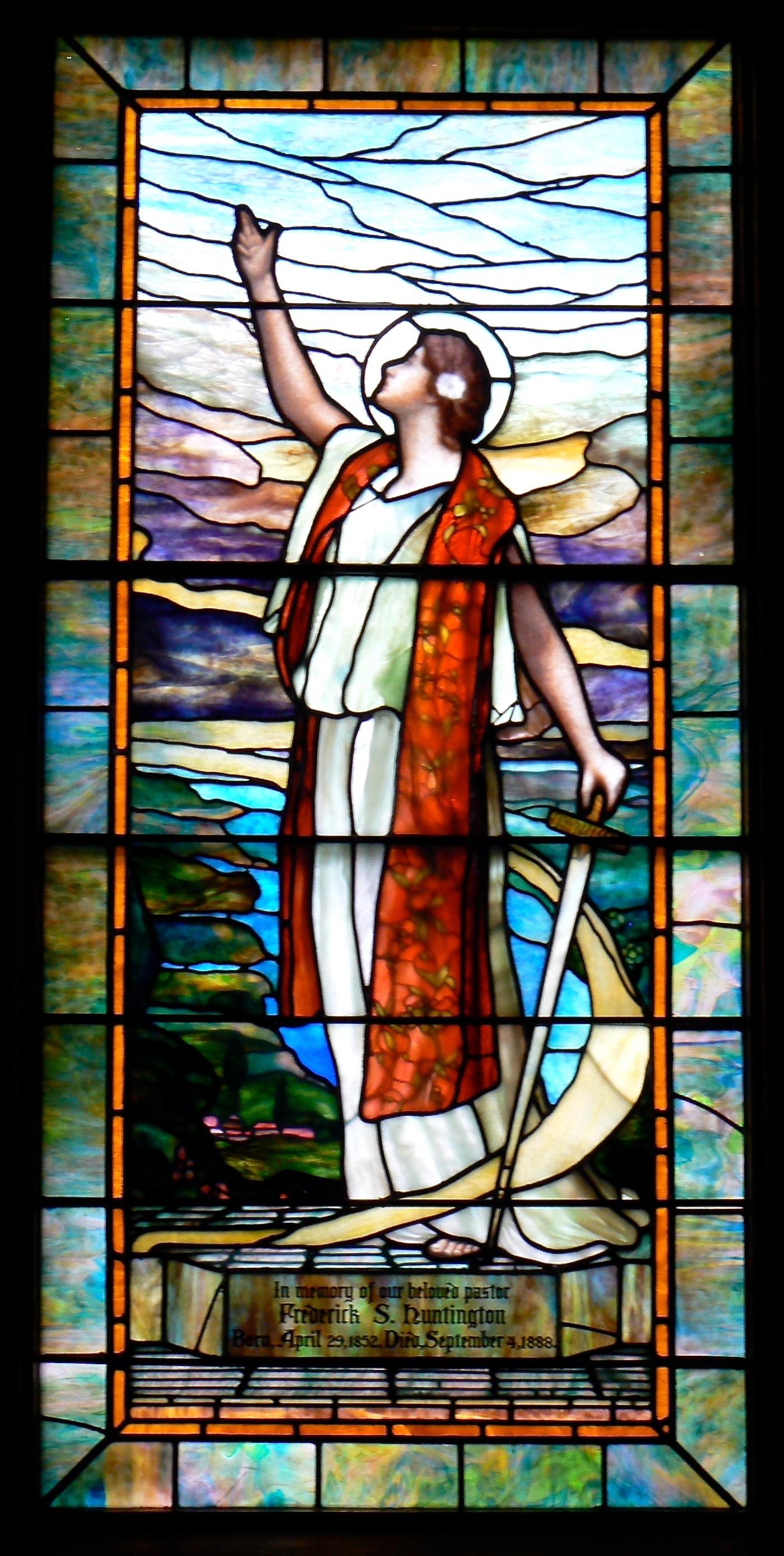Tiffany Restoration, Congregational Church - Worthington, Ma.