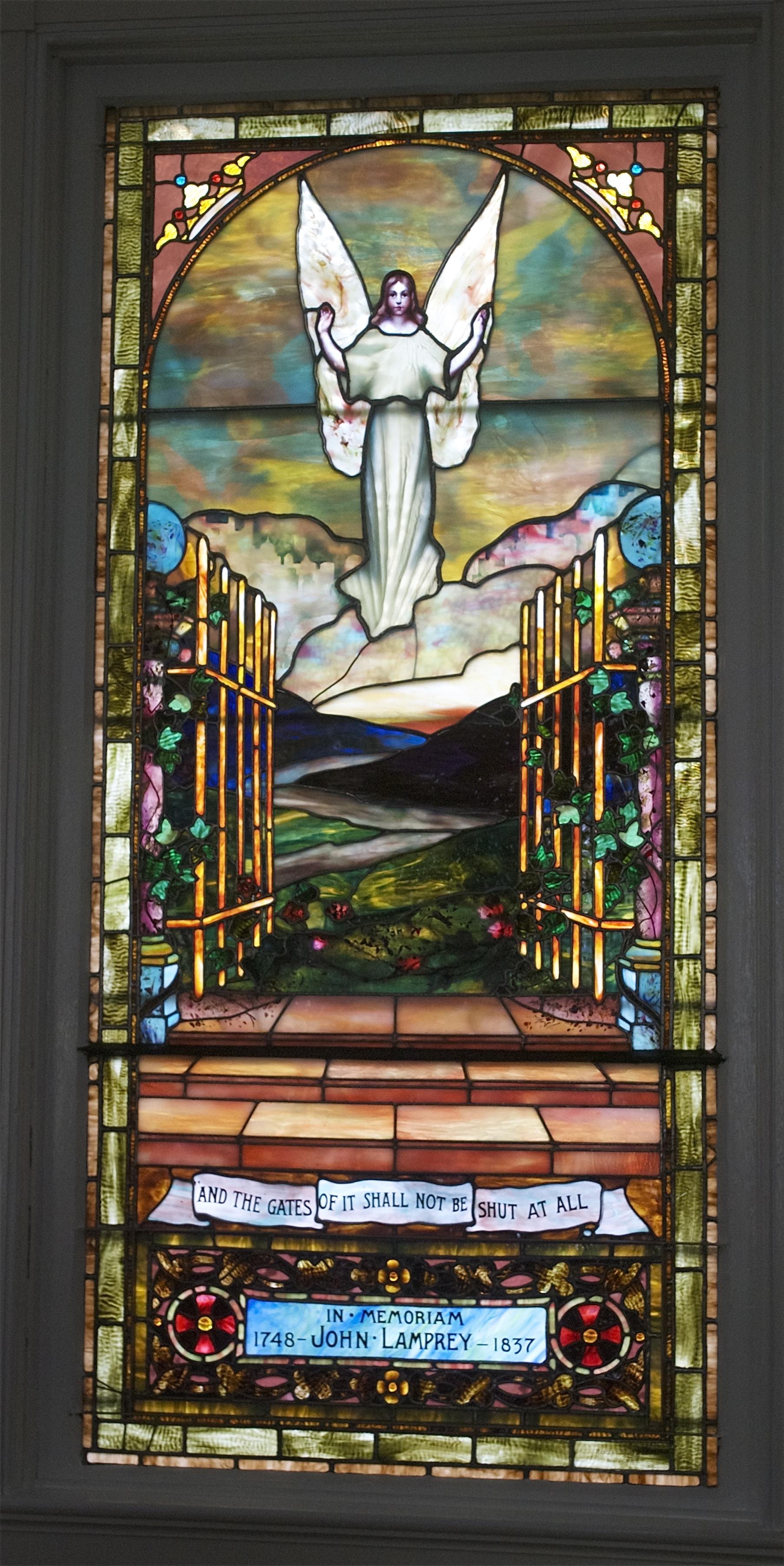 United Church of Christ, N.Hampton, NH - Redding Baird Window