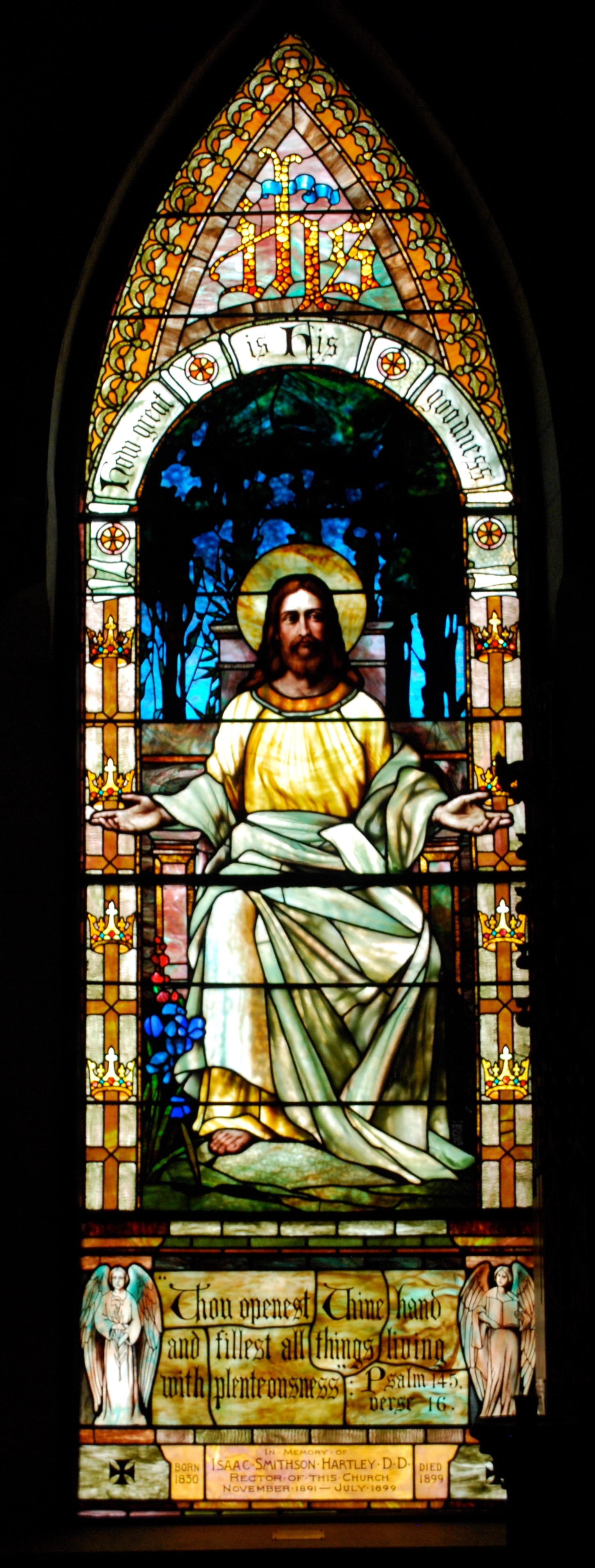 St. James Episcopal, Great Barrington, Ma. - Redding Baird Window