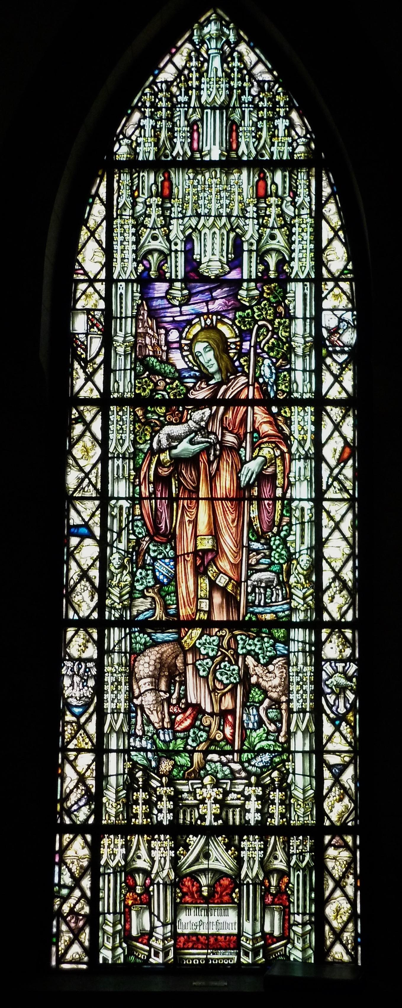 St. James Episcopal, Great Barrington, Ma. - Bonawit Window