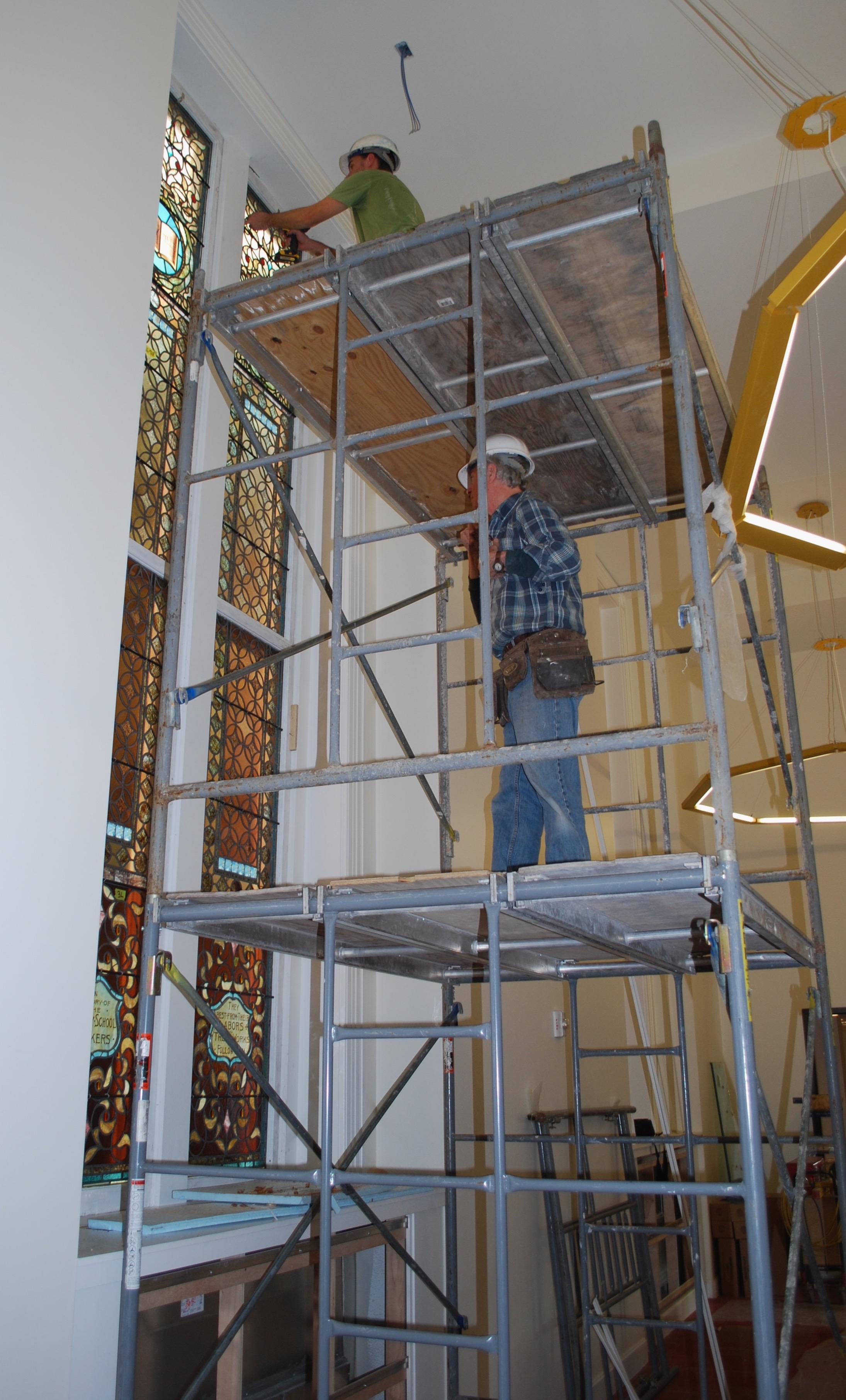 Lesley University, Installation