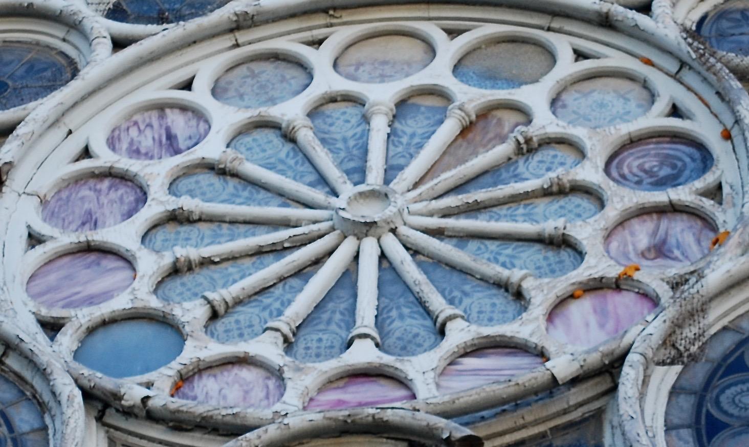 Exterior Upper Detail Pre-restoration