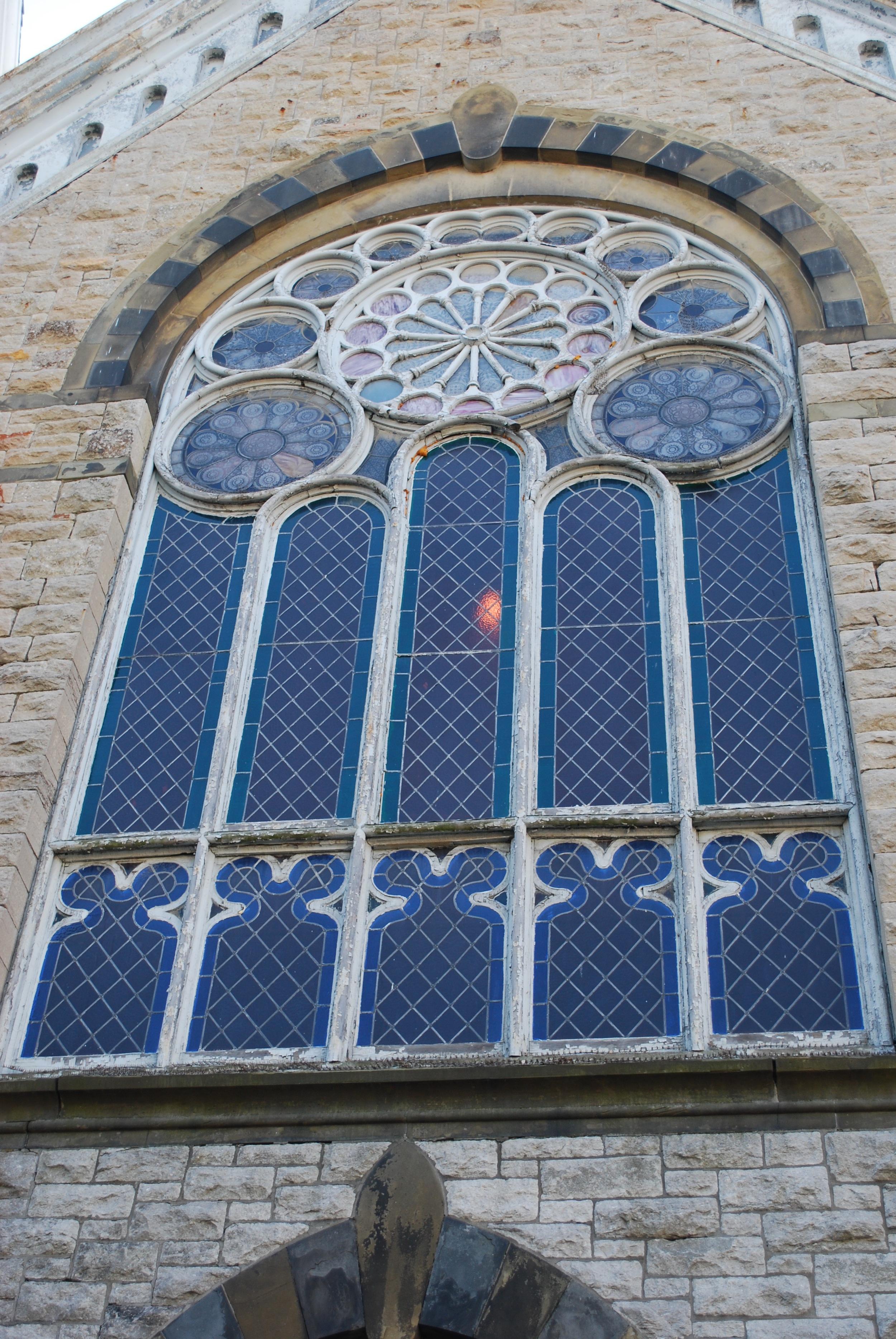 First Presbyterian, Hudson, NY - Pre-restoration