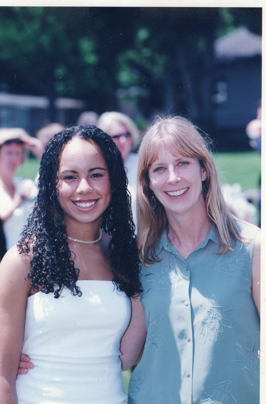 Janelle Dempsey and her Mom, Pamela Dempsey (family photo)