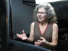 Behind the scenes: Voice Actor Kathryn G. Howell as Dorothea Dix