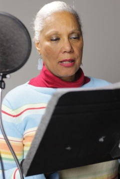 Behind the scenes: Voice Actor Sheila Nutt as Harriet Jacobs