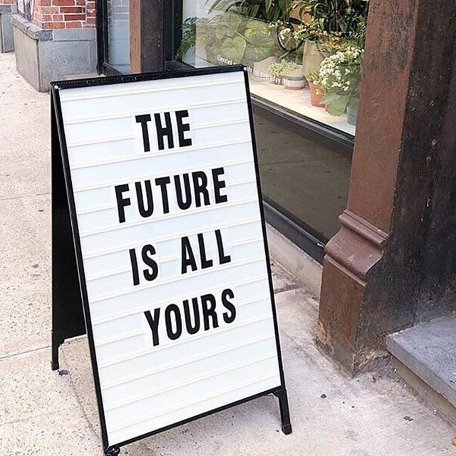 Signs around the way ✨ Not only is today October 1st but it's also the first day of the rest of your life. The future belongs to you! ✨ ⠀⠀⠀⠀⠀⠀⠀⠀⠀⠀⠀⠀ #aroundthewaygirl #reclaimingournarrative