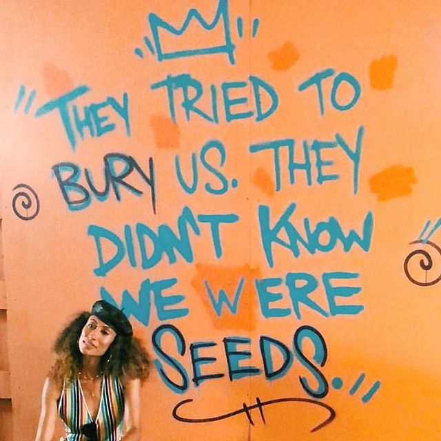 ✨Hey Sis, keep blooming. 🌱 #aroundthewaygirl #reclaimingournarrative