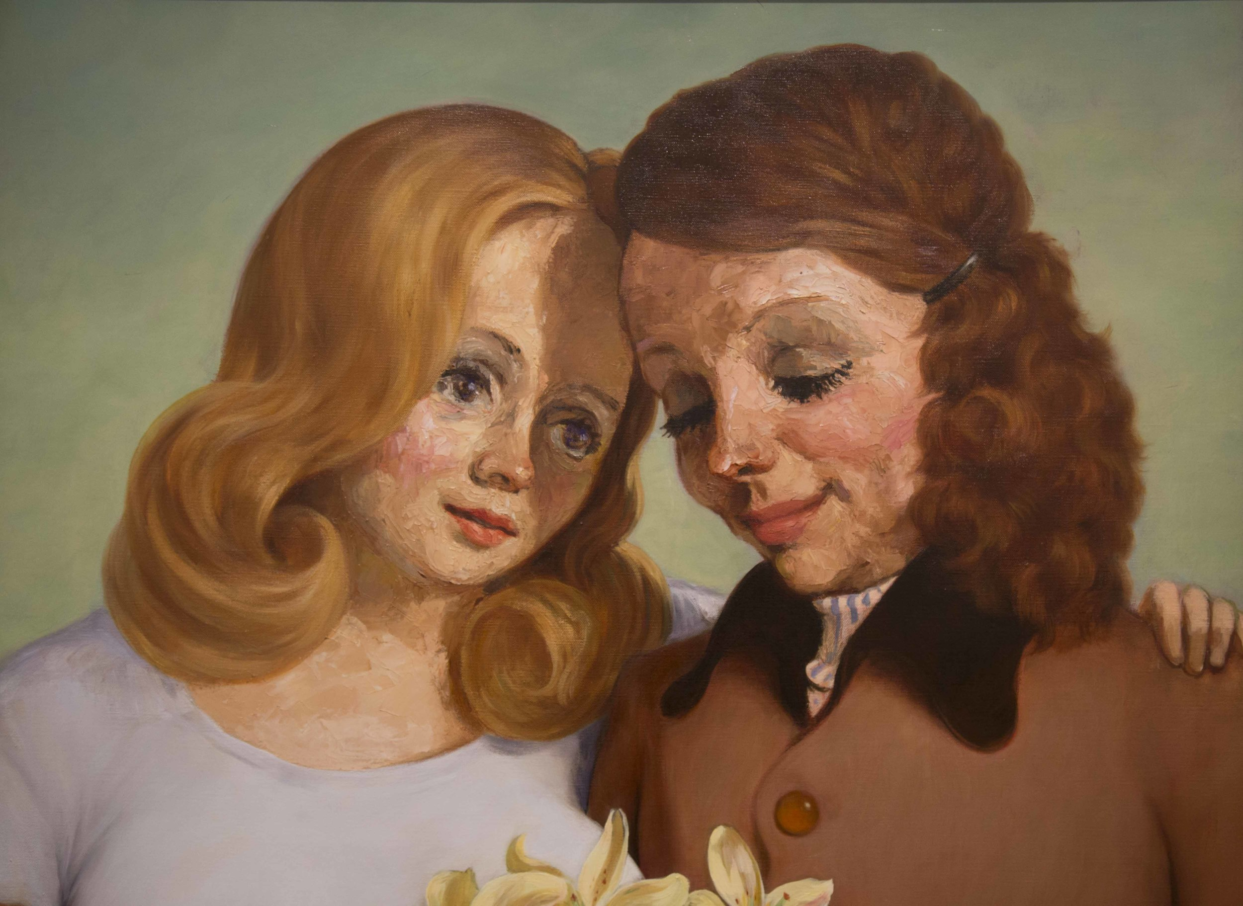 'Daughter and Mother' (1997) by John Currin