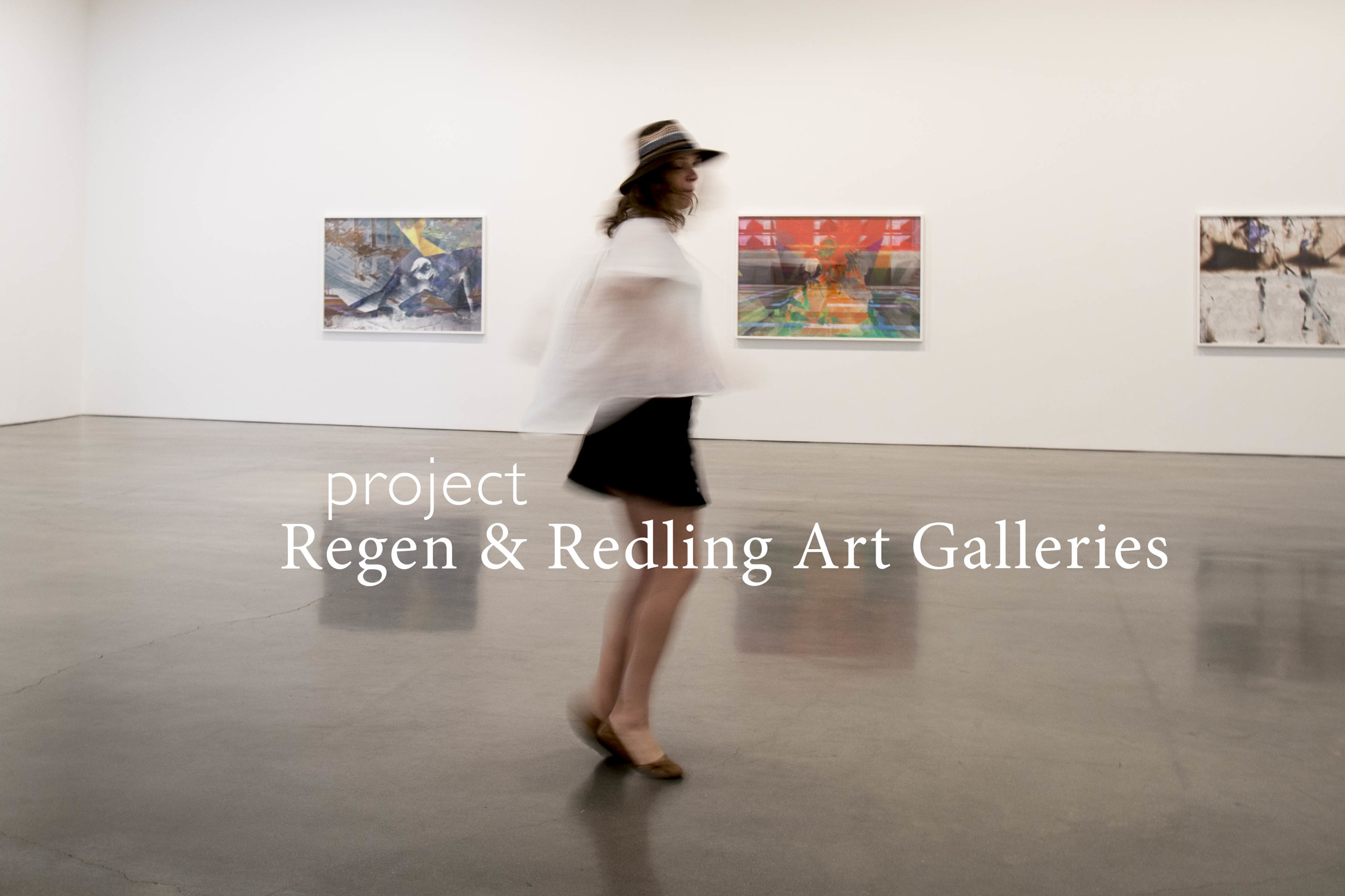 REDLING FINE ART & REGEN PROJECTS, two contemporary art galleries in Hollywood.