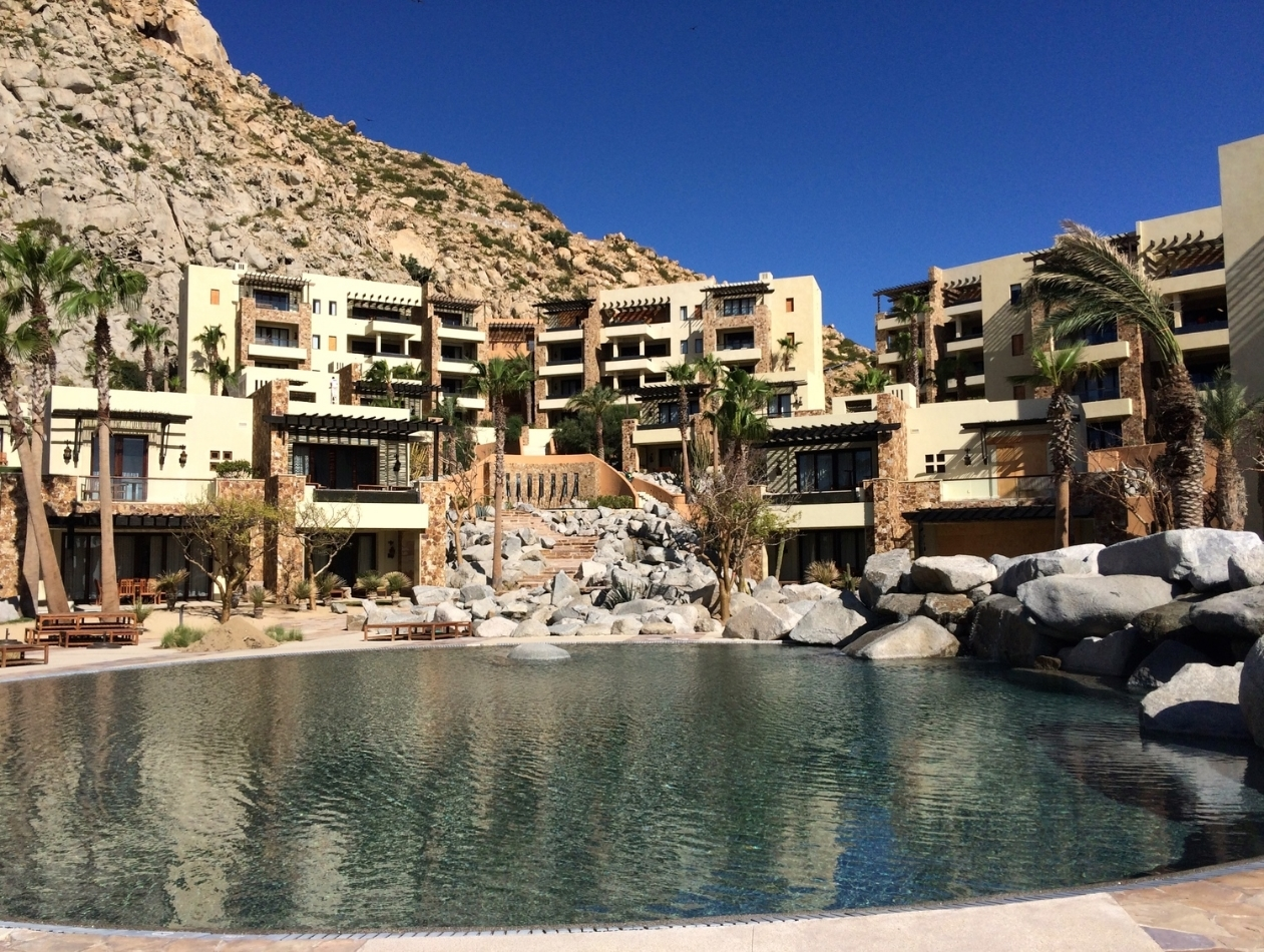 The Resort at Pedregal - Cabo San Lucas, MX   Awards and Recognition: AAA Five Diamond Award; #15 on Travel & Leisure Magazine's 2014 World's Best Hotel Awards List and #1 Resort in Mexico