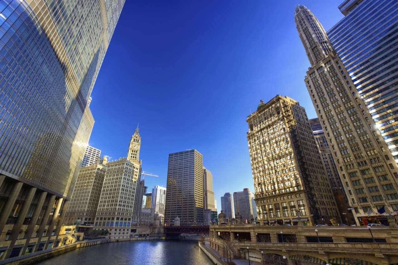 Wyndham Grand Chicago Riverfront - Chicago, IL   Awards and Recognition: AAA Four Diamond Award