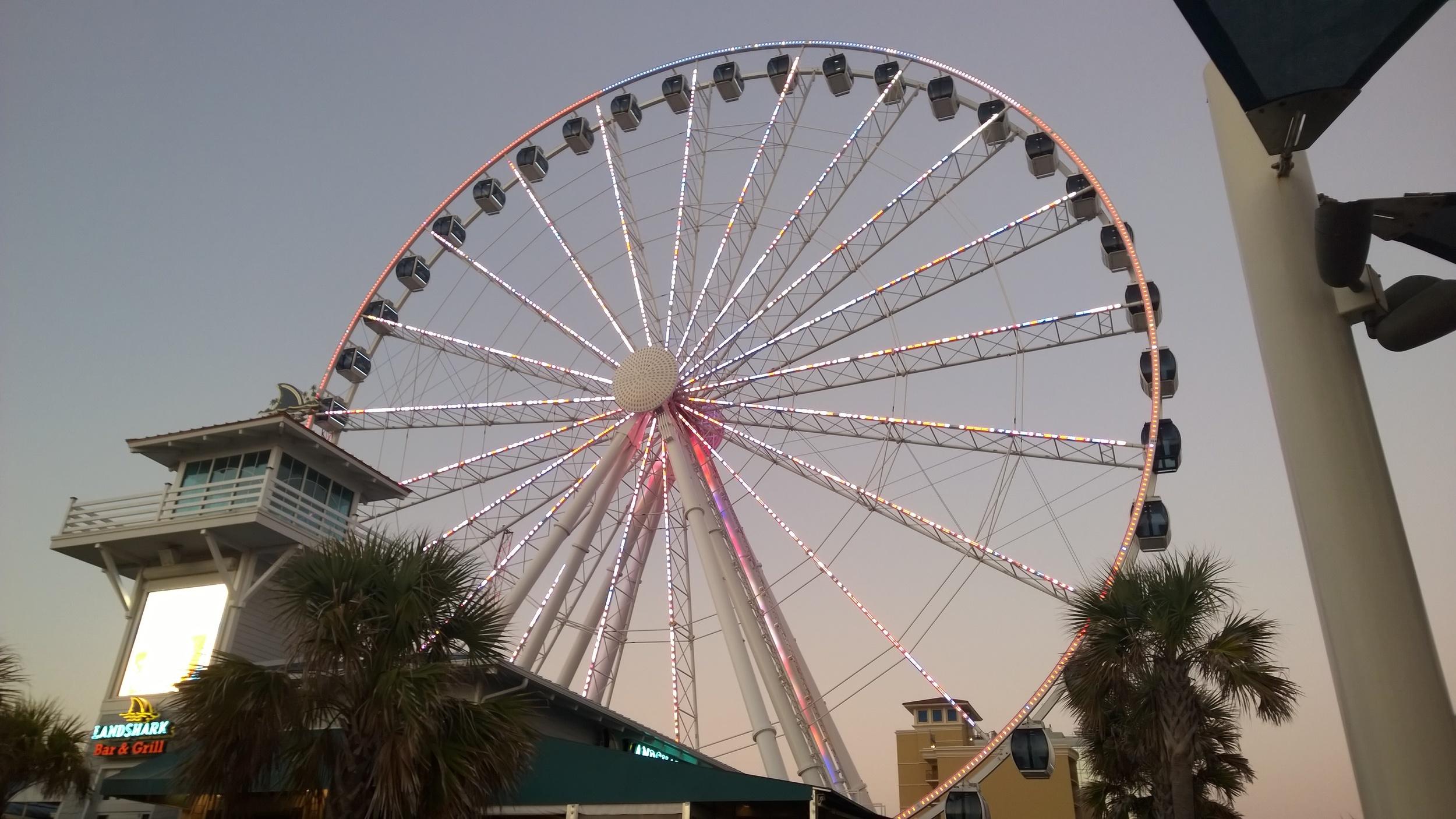Sky Wheel on the Board Walk, Myrtle Beach SC