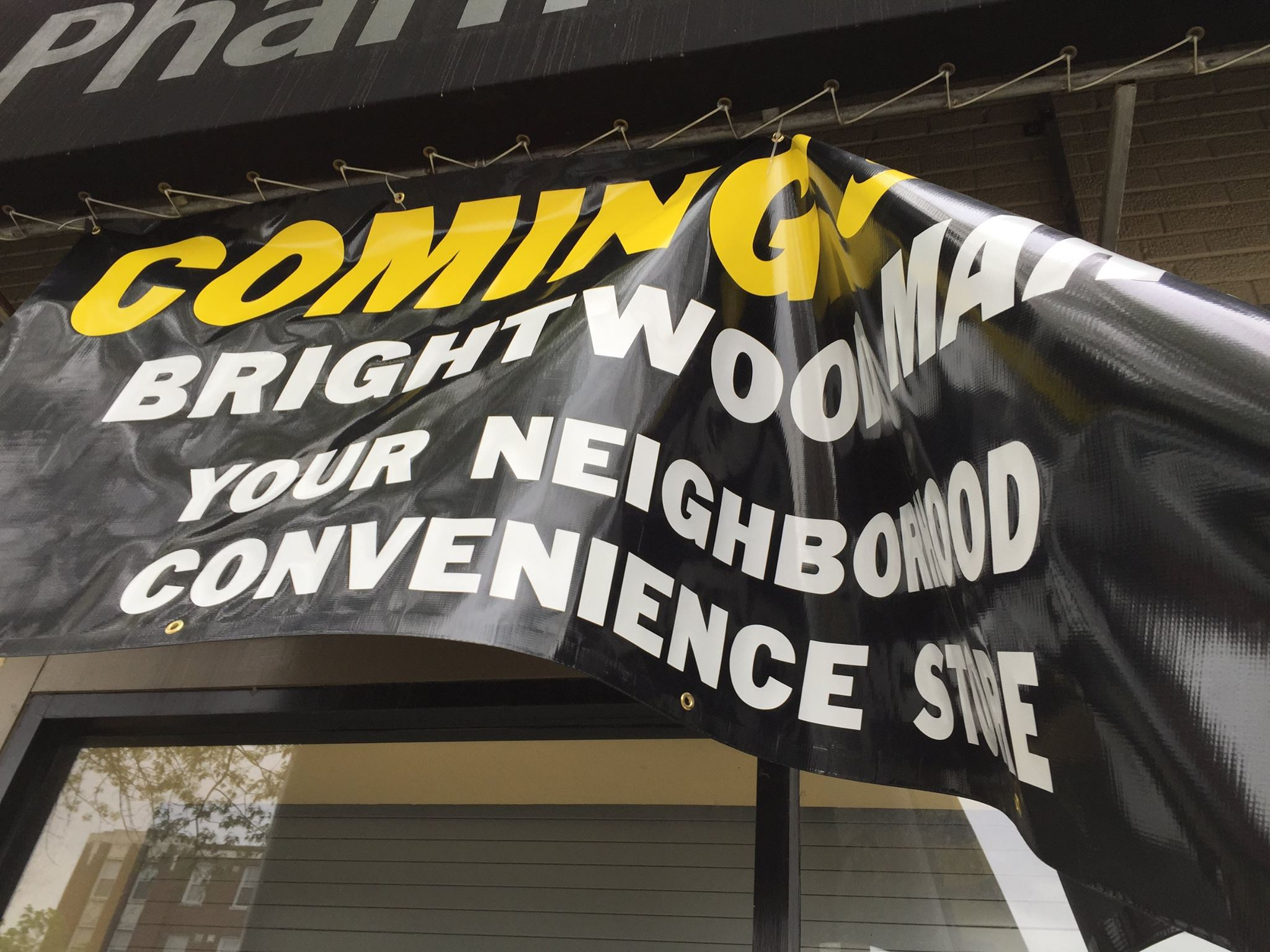 Brightwood Mart? In Petworth.