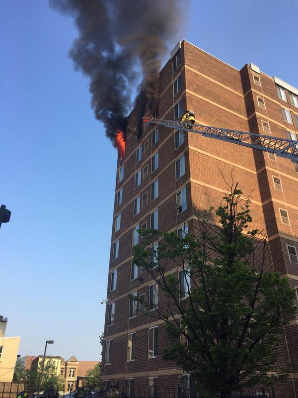 1300 block of Seventh Street NW(CourtesyD.C. Fire)