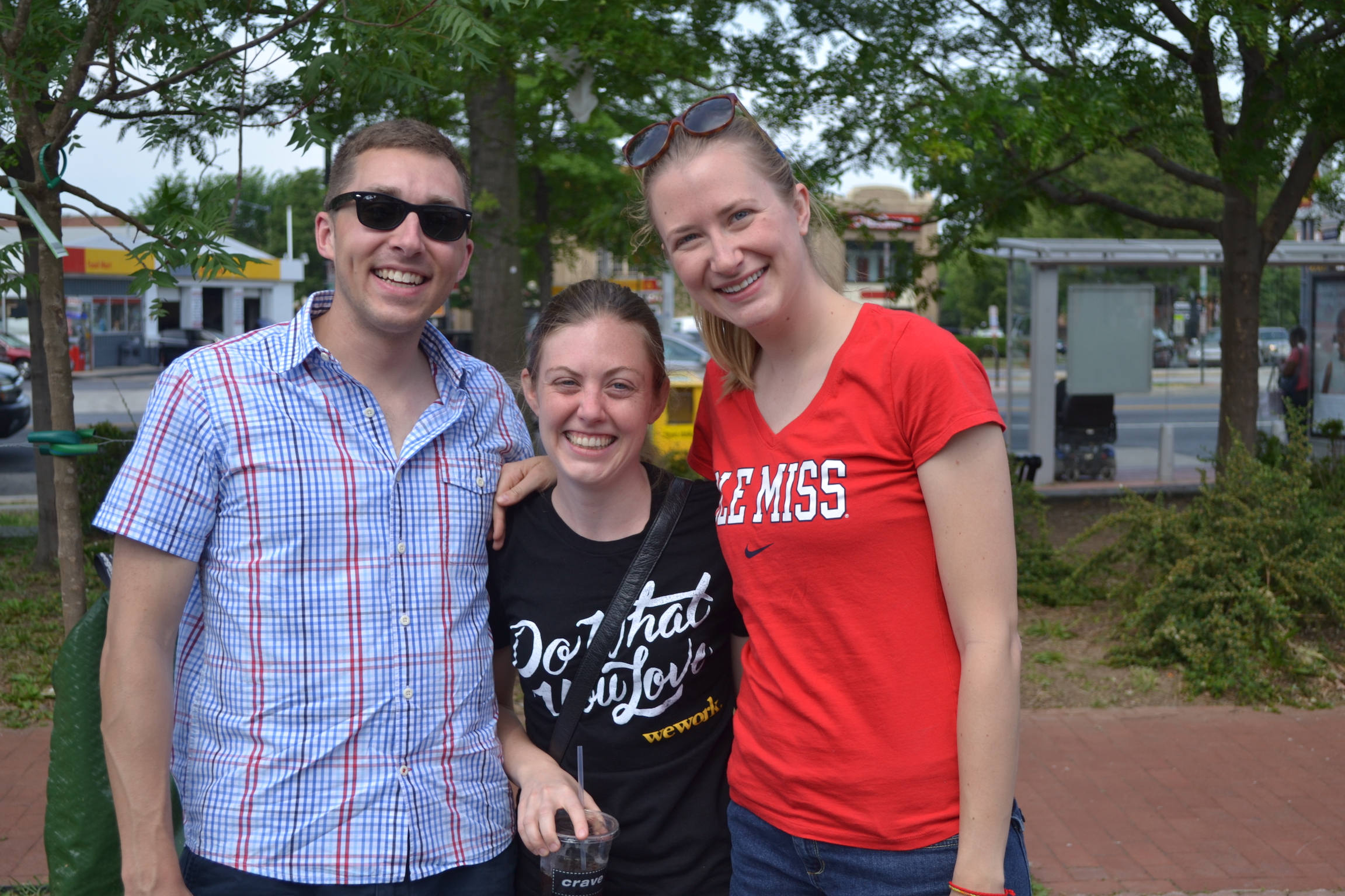 Allison Street residents Dan, Mary and Monica.