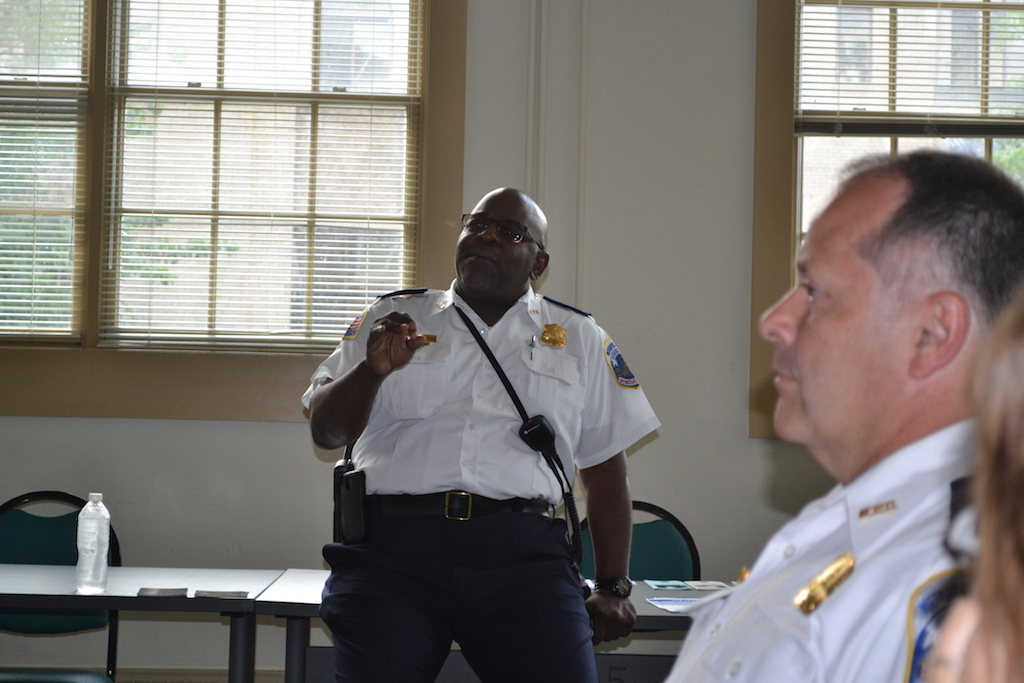 Lt. Van Crawford, PSA 407 manager.