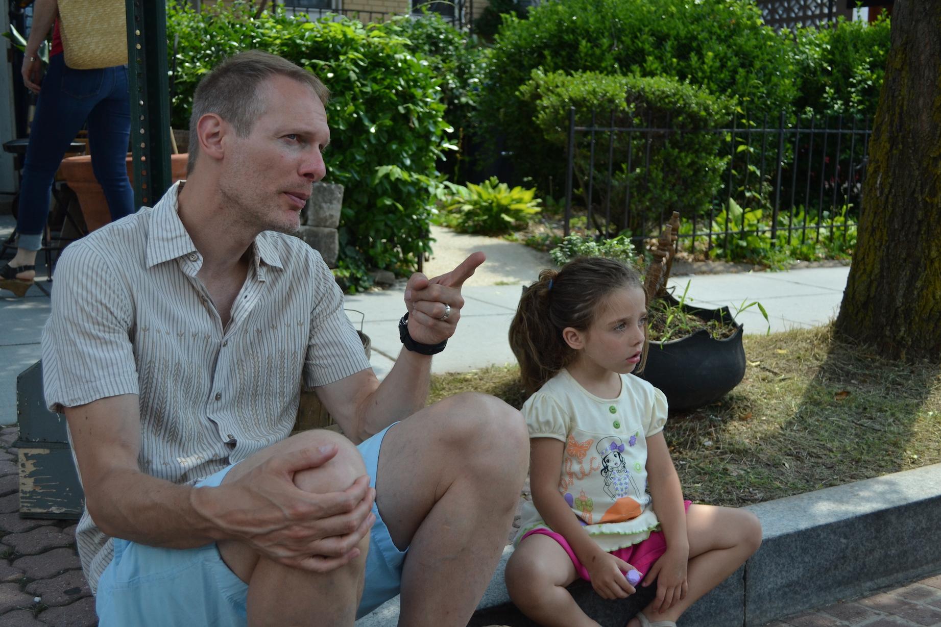 Mehl Penrose and his daughterAriel