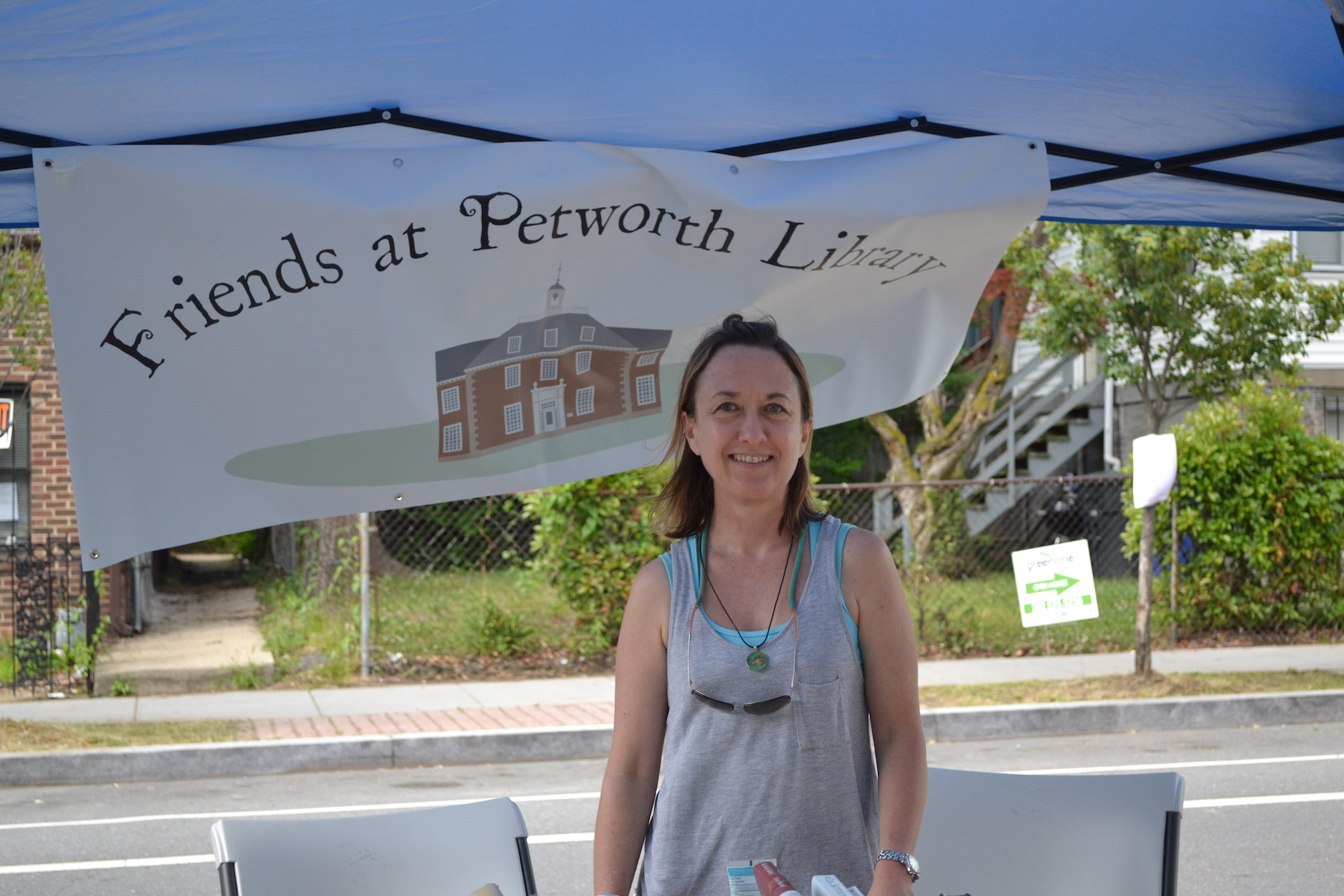 Kay Kuhlman from the Friends at the Petworth Library.