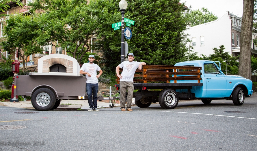 Andrew Dana, Chris Brady and the 1967 pickup