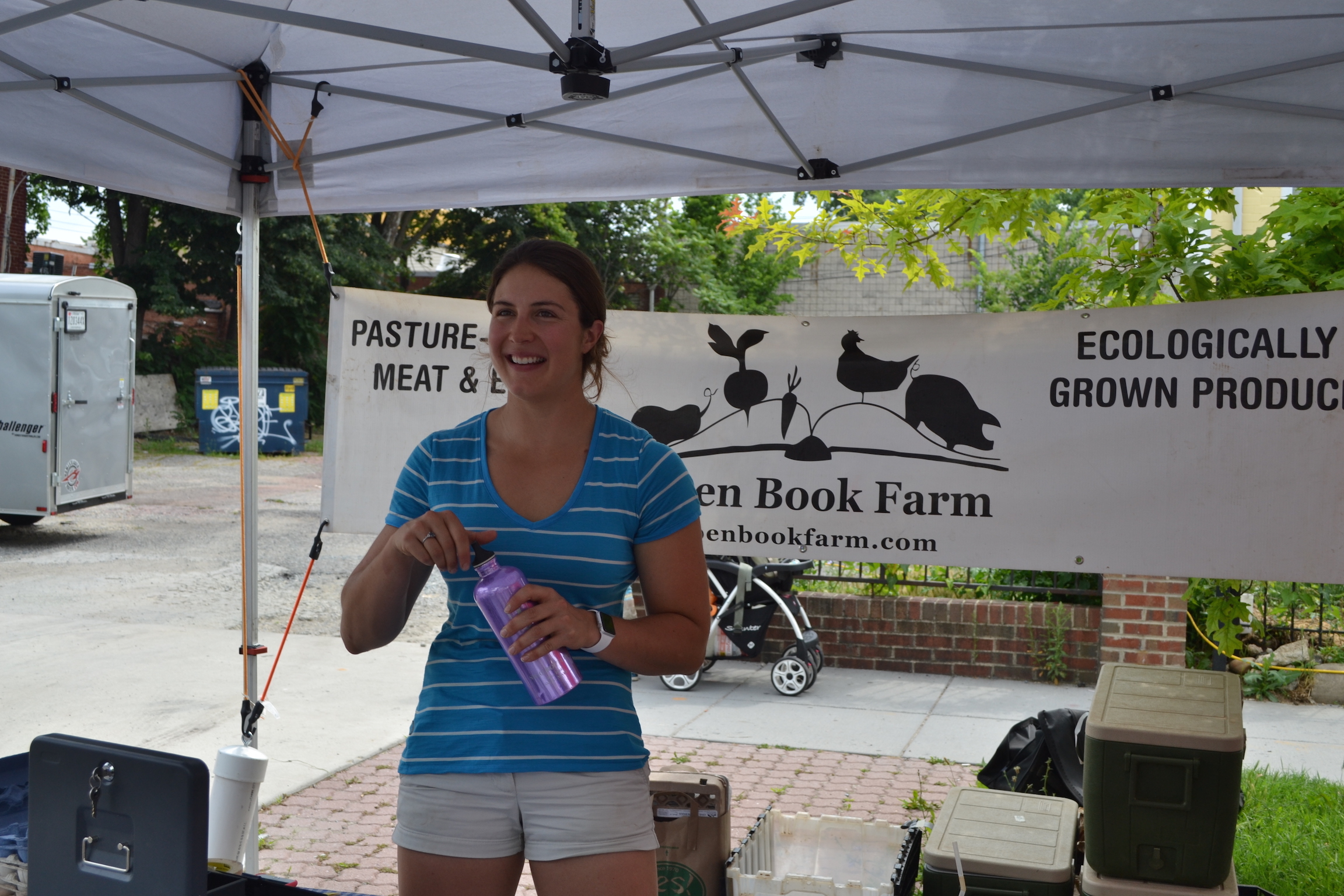 Caitlyn from Open Book Farms.