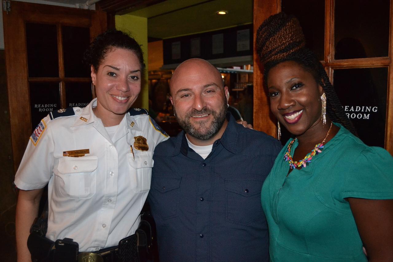 4D Inspector Vendette Parker and ANC 4D Commissioner Krystal Branton,These are two impressive people.