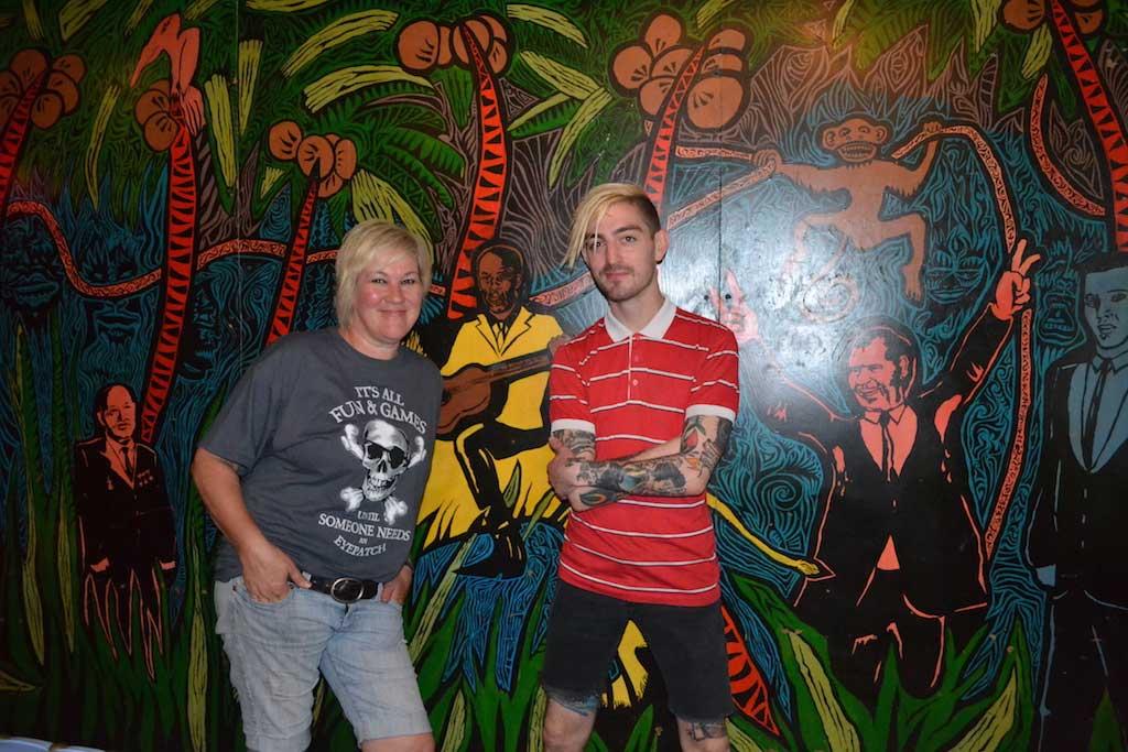 Owner Jackie Greenbaum, and partner Nick Nazdin