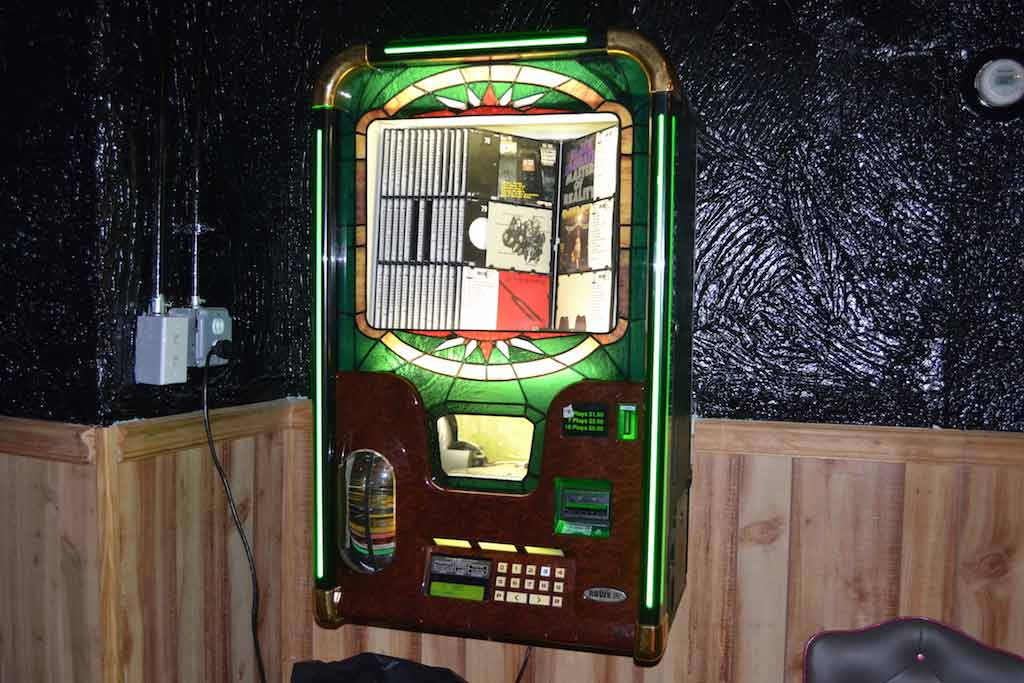 3 plays for a dollar on the jukebox.