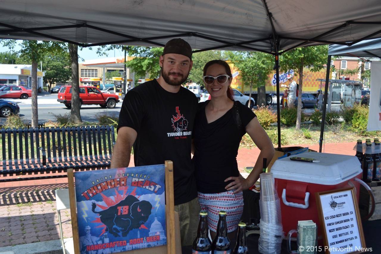 New vendors Thunder Beast hand crafted root beer.