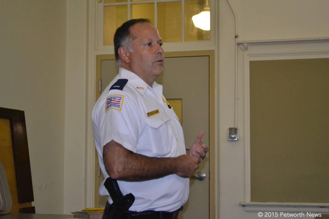 PSA 404 manager Lieutenant Raul Figueras
