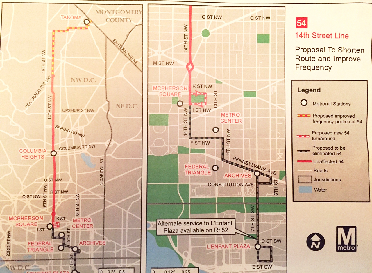 Photo of the paper map of the route.
