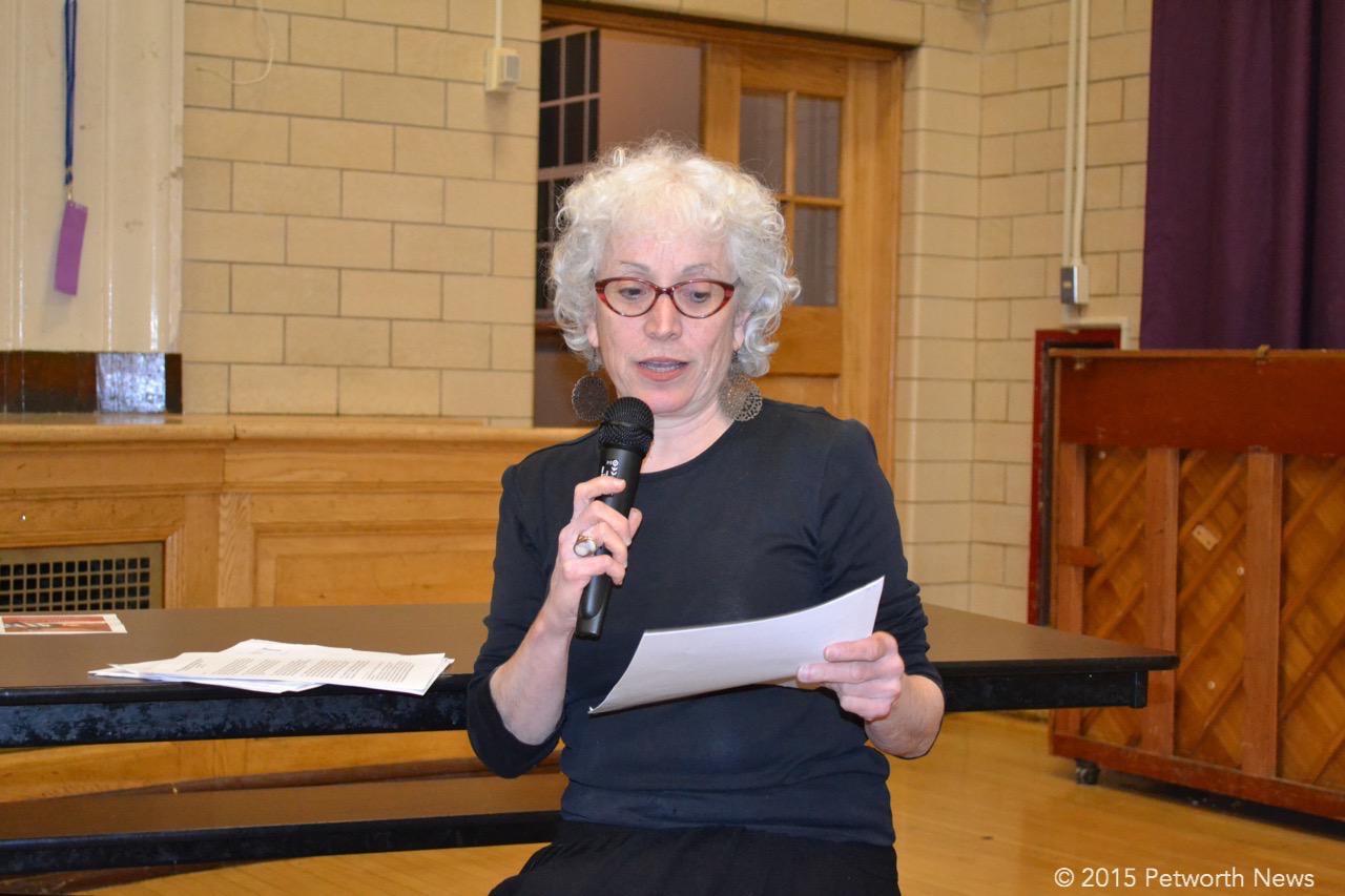 Andrea Rosen, from Ward 4 Thrives