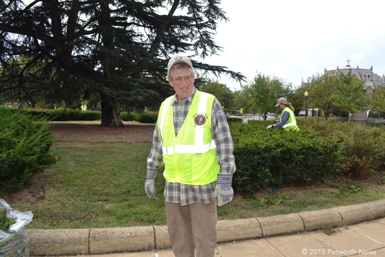 George Morgan looking spiffy in his NPS safety vest