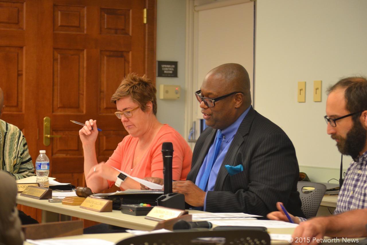 Treasurer Kathleen Crowley, Chair Vann-Di Galloway and Vice Chair Zach Teutsch