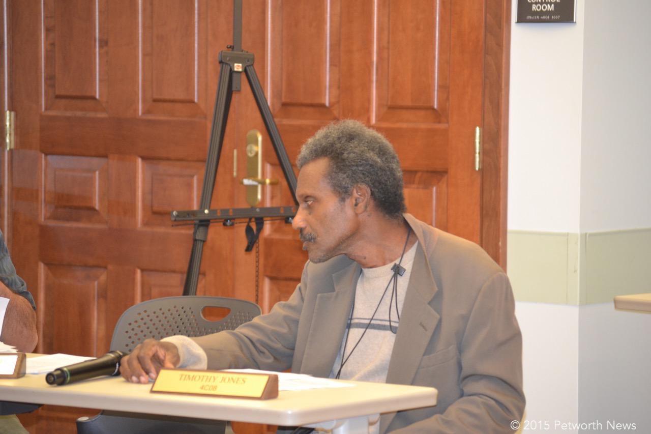 Commissioner Timothy Jones