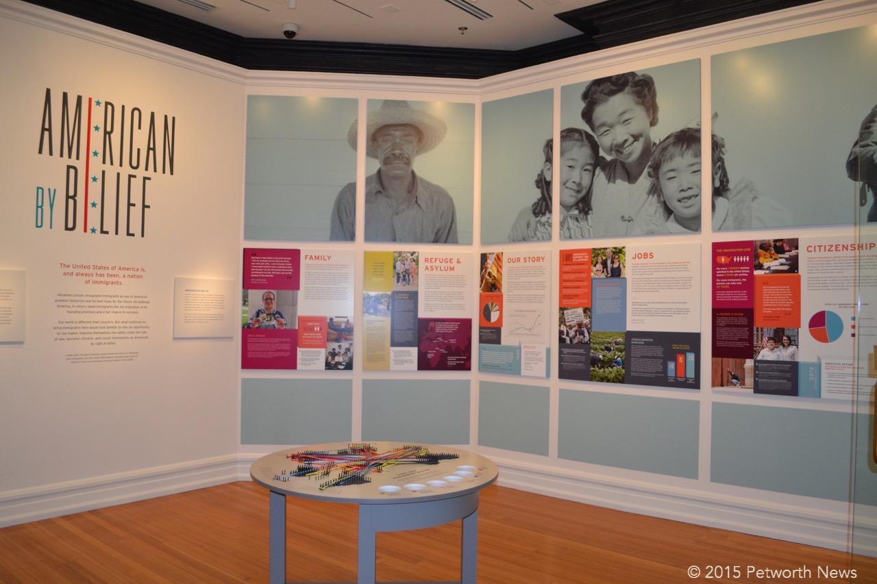 A look at the exhibit