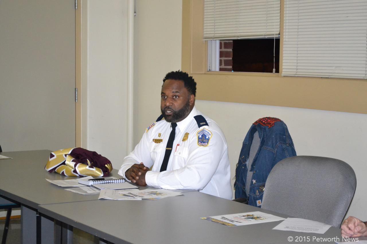 PSA 407 manager Lt. Anthony Washington